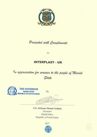 Maridi certificate